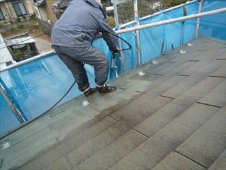 三鷹市大沢で傷みが出る前にスレート屋根を塗装工事します
