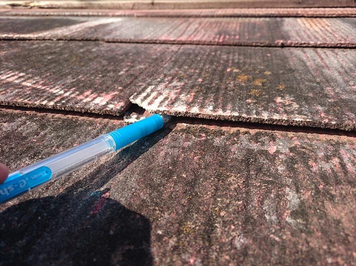 杉並区善福寺でスレートと下地が傷んでいるアパートの屋根を葺き替え工事します