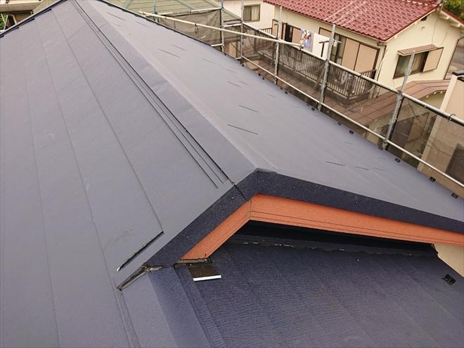 屋根カバー工事が無事に完成しました