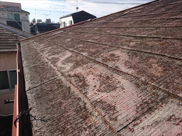 築30年以上経過したスレート葺き屋根