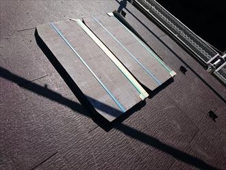 新しい屋根はコロニアルクアッド