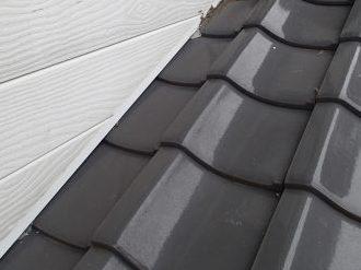 屋根と外壁の取り合い
