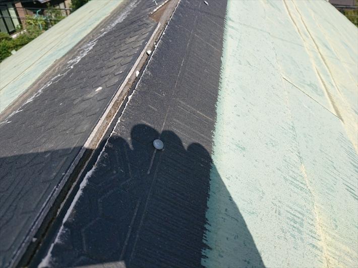 スレートの下に葺いてある防水紙の劣化が気になります