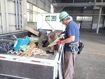 ガルバ鋼板加工