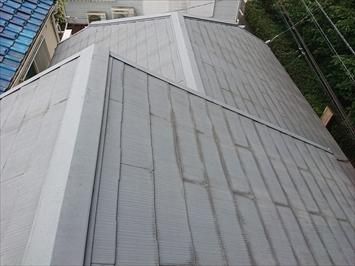 スレート葺き屋根の調査をおこないます