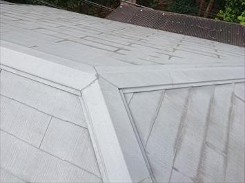 全く問題ないスレート葺き屋根
