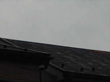 屋根のズーム
