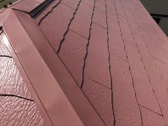 塗装を実施したスレート屋根