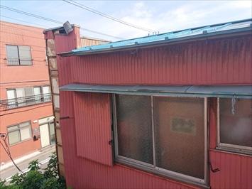 被害を受けたのは倉庫の二階部分