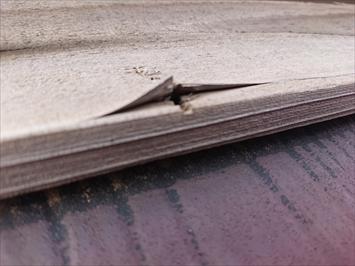 三鷹市上連雀で台風15号の強風による棟板金の被害は火災保険で直します