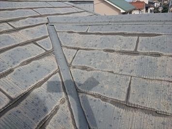 東大和市新堀で台風と雹の被害を受けたスレート屋根を火災保険で直します