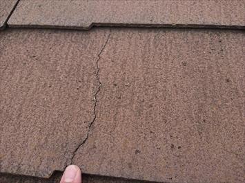 多摩市落合で調査したスレート屋根は塗装ではなく屋根カバー工事でメンテナンスします