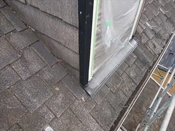 ドーマーと屋根の取り合い部分は劣化しやすい所です