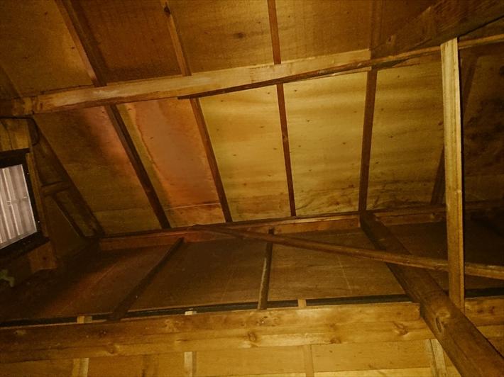天井裏の状態です