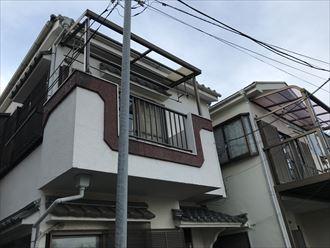 江戸川区西一之江で波板屋根が台風被害、火災保険で修繕致しました。