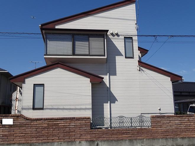 築15年のスレート屋根のメンテナンス