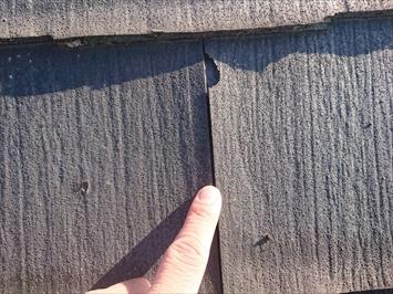 西東京市泉町でパミールの屋根を調査、ガルバリウム鋼板での屋根カバー工事がお勧めです