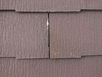 剥がれたスレートは塗装しても割れてしまいます