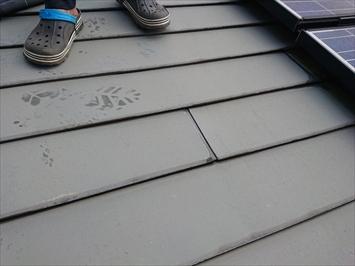 トタンの横葺き屋根