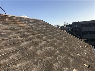スレート屋根の剥離やコケの発生