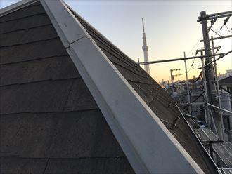 急勾配の屋根