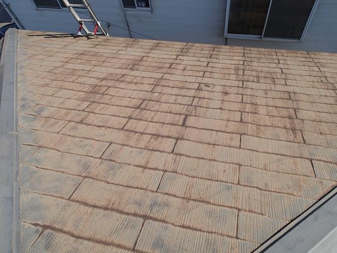 築17年のスレート屋根