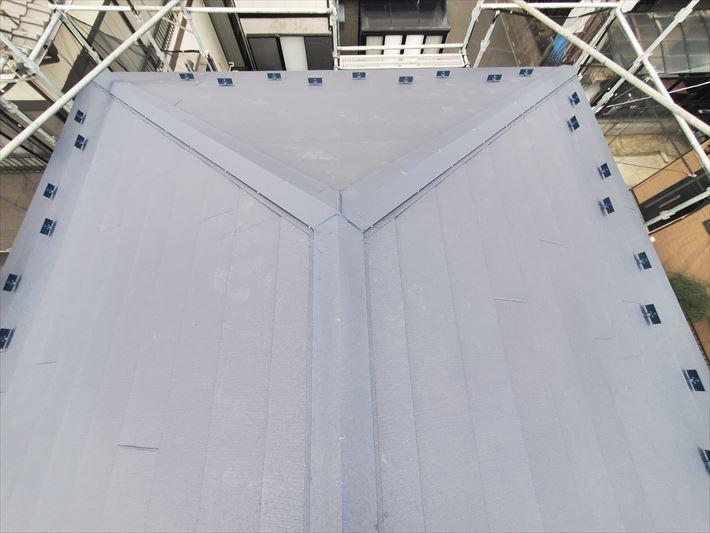 アイジー工業のスーパーガルテクトで屋根葺き替え工事を実施