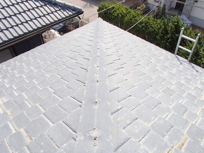 厚型スレート屋根