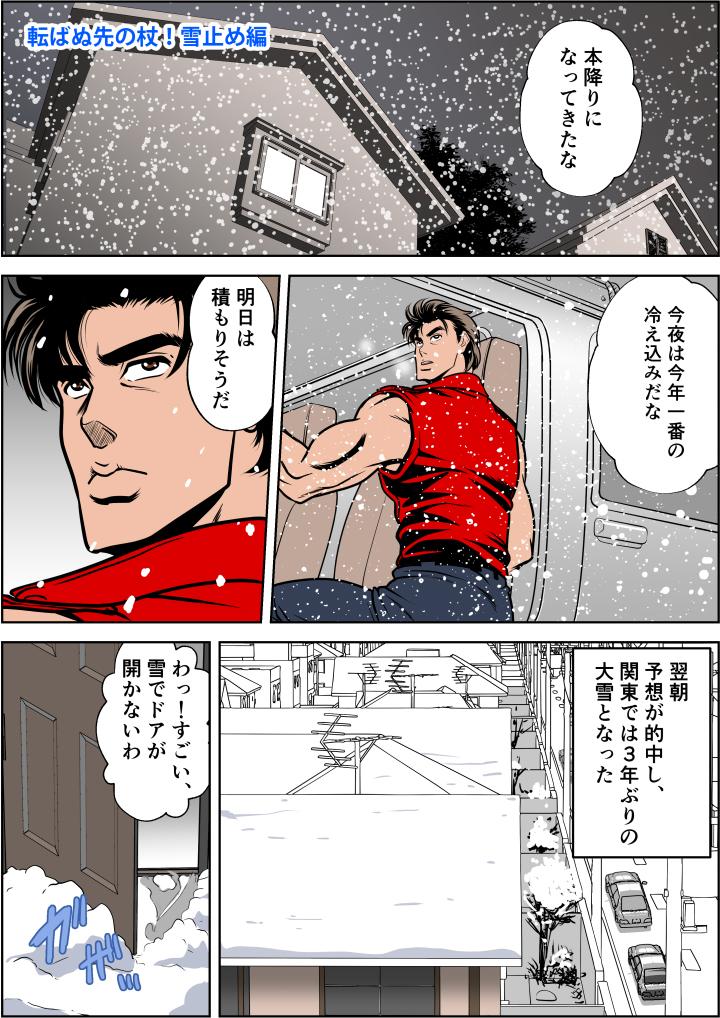 関東では3年ぶりの大雪が降った