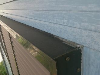 窓サッシのシーリングの劣化