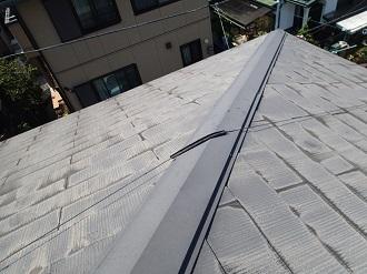 塗膜の剥がれたコロニアル屋根