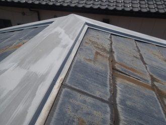 スレート屋根点検時