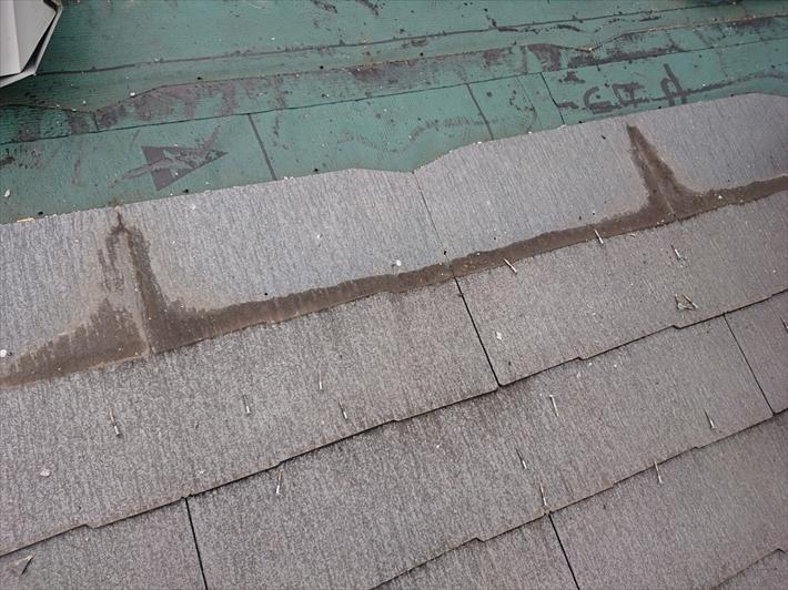 ほこりが詰まっていると雨漏りのリスクが高くなります