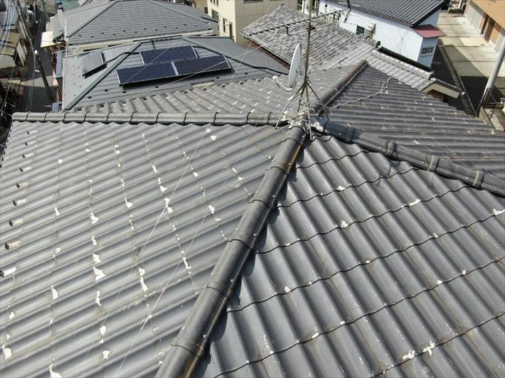 屋根は方形屋根です