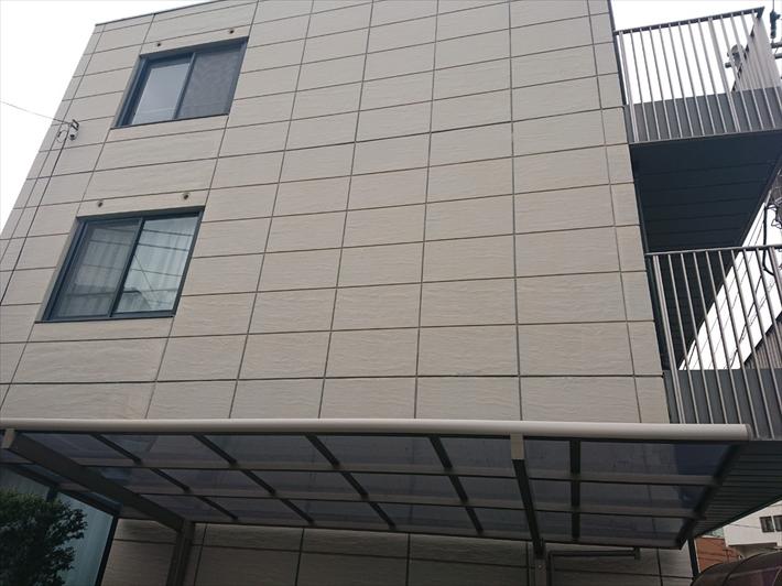 マンションの外壁はALC板が張ってあります
