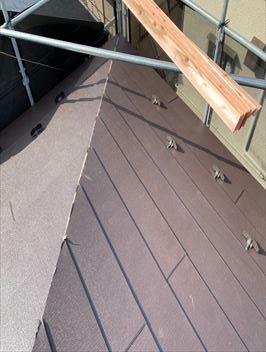 屋根材敷設ガルテクト