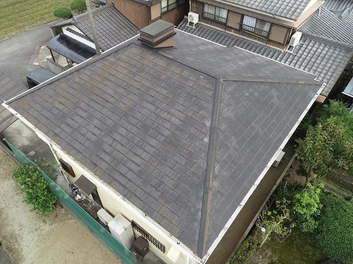 寄棟屋根の外観