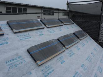高分子系ルーフィングを使った屋根葺き替え工事