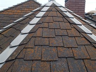 塗装できない屋根材アーバニー