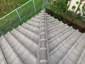 棟瓦取り直し工事は銅線や詰め物が新しくなる工事です