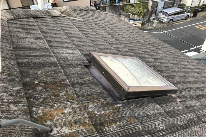築35年のセメント瓦屋根
