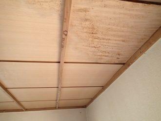 天井の雨漏り被害