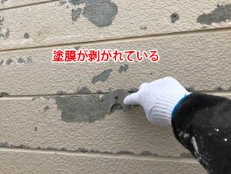 軒の出がないと外壁の塗膜の劣化が早める