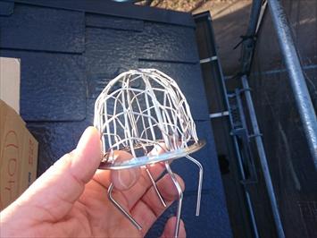 排水口部分に取り付けるネット