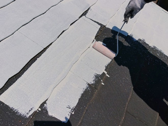 屋根塗装 下塗りのシーラー