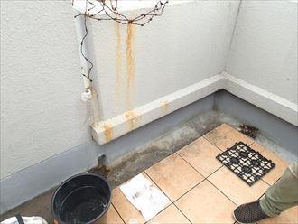 マンションでの漏水