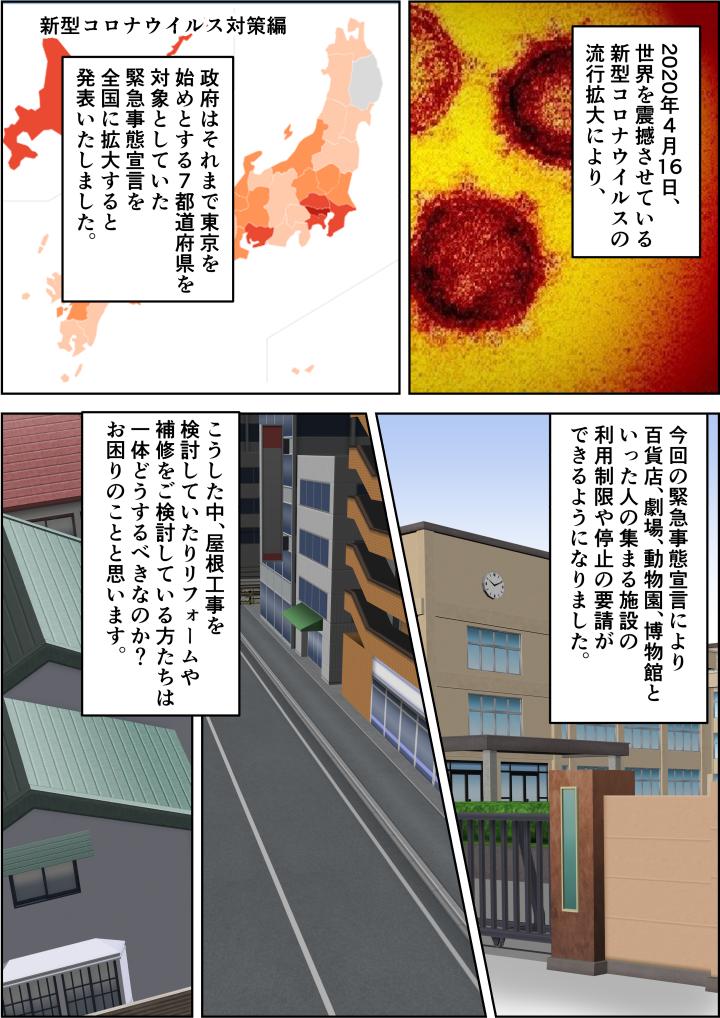新型コロナウイルスが世界を席巻!日本でも緊急事態宣言が発令し外出を控えるようになった。
