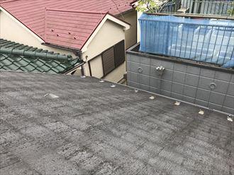 屋根材の落下