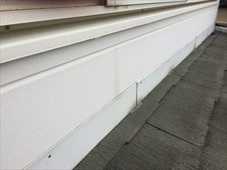 軒下のスレートより軒先側のスレートの方が傷みやすい