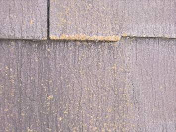 撥水性が落ちたスレート屋根